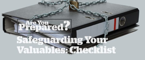 Personal Valuables Checklist